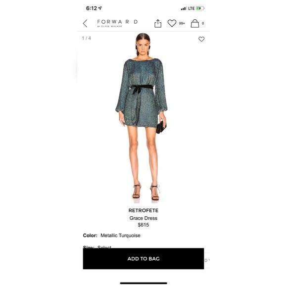 66ae1755 Retrofête Dresses | Worn Once Retrofete Grace Dress | Poshmark